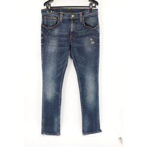 Nudie Jeans men's 33 Tape Ted organic cotton